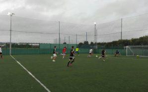 Football match at Training Vision