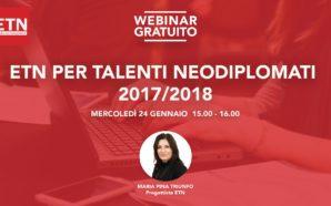 """Webinar """"Talenti Neodiplomati"""" – Come iscriversi"""