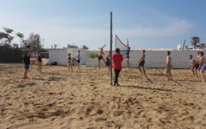 Beach Volley at Sistema Turismo