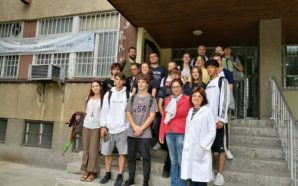 A great visit to the laboratories in Sofia
