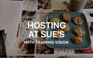 Hosting at Sue's with Training Vision
