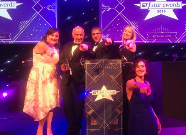 Team ETN premiazione #STStarAwards18