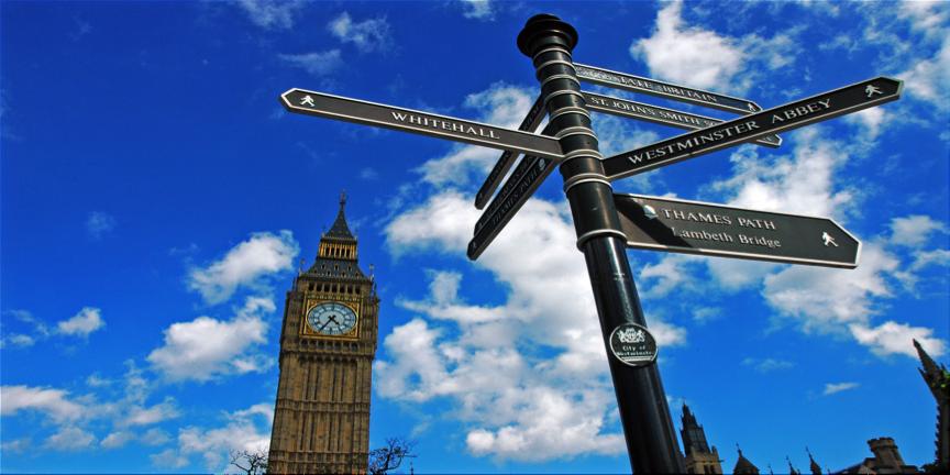 I segnali di Londra