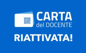 Riattivata la Carta del Docente. A disposizione altri 500 euro…