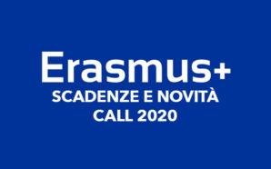 Erasmus+: pubblicate le scadenze e le novità della Call 2020