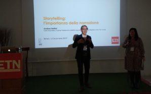 Storytelling: l'importanza della narrazione | ETN Annual Meeting 2019, 3°…